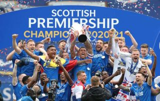 Rangers Scottish Premiership 2020/21 champions