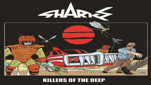 Cover art for Sharks - Killers of the deep