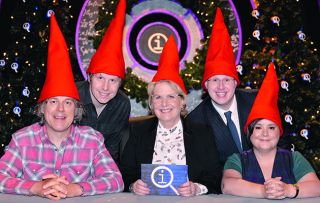 Continuing the N series, this 'Noel' edition features guests Josh Widdicombe, Susan Calman and Matt Lucas who, along with regular panellist Alan Davies, are competing not only to gain the most points, but also to win a marzipan pig.