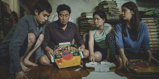 Parasite Kim family