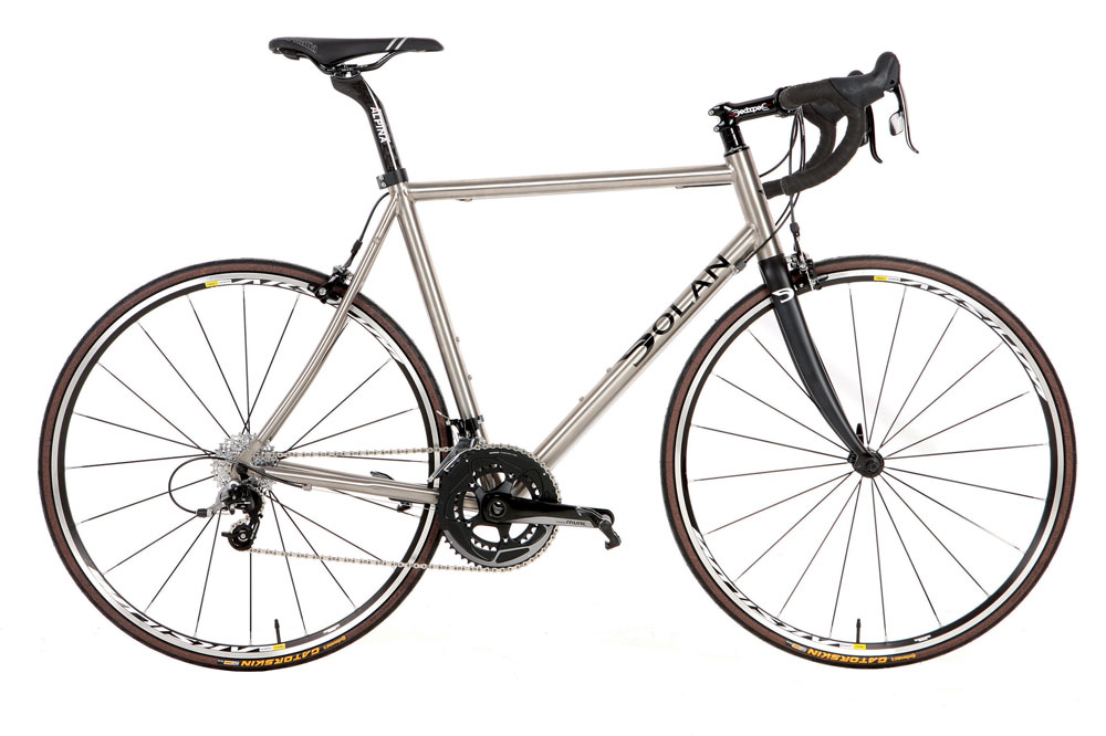 4a5dd1112 Dolan Titanium ADX road bike review