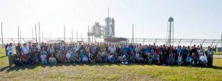 Space Shuttle Lovers Flock to Final Flight of Atlantis