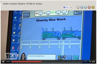 From the Classroom: Best Tech Practice Video of the Week - Roller Coaster Physics