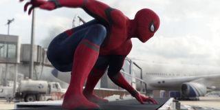 Spider-Man in Civil War's airport battle