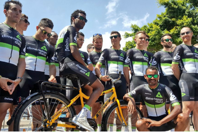 Dimension Data have added a splash more colour to their kit for 2017