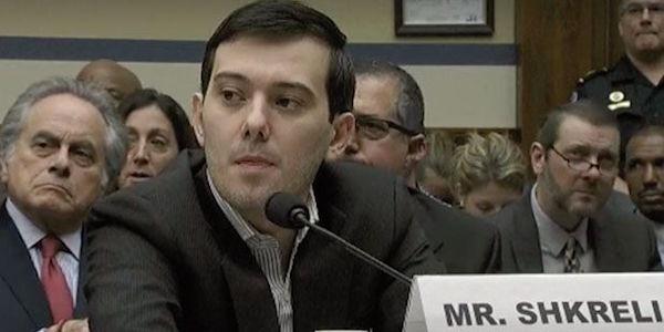 Martin Shkreli at Congressional hearing