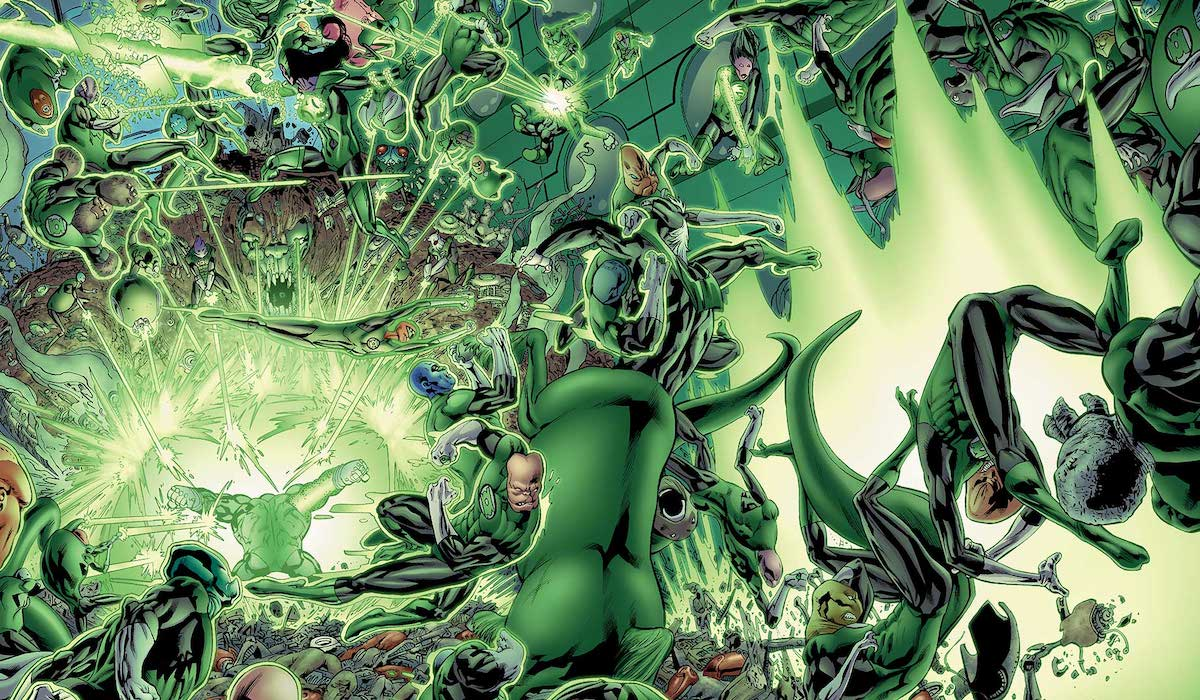 Green Lantern Corps aliens