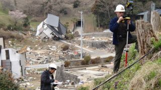 Hermann Fritz surveys the tsunami damage in Japan.
