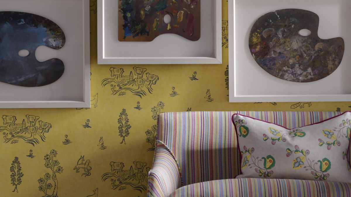 5 ways to use wallpaper for impact – from the founder of global design house Andrew Martin