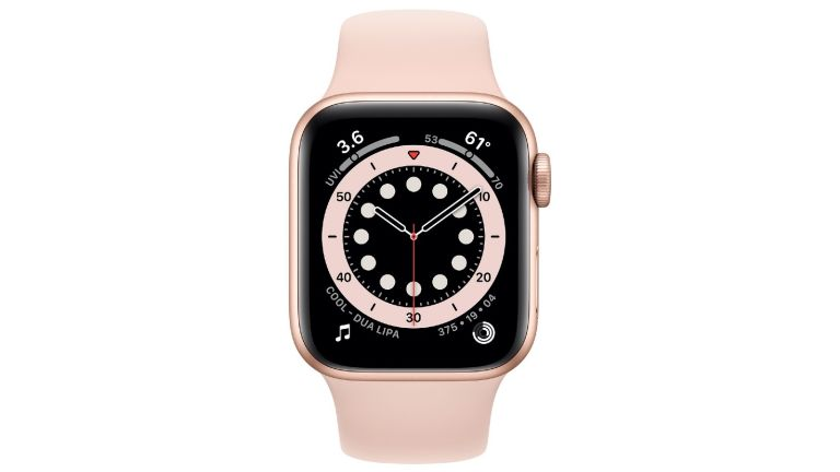 How to set up an Apple Watch: pink Apple Watch Series 6