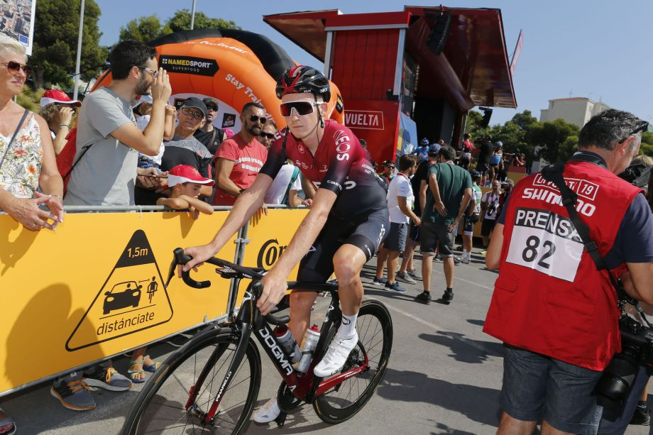 'No excuses' for Team Ineos at Vuelta a España 2019 as Tao Geoghegan Hart and Wout Poels out of GC race