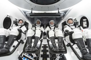 NASA astronauts Shannon Walker, Victor Glover and Mike Hopkins and Japanese Aerospace Exploration Agency (JAXA) astronaut Soichi Noguchi will fly on SpaceX's CREW-1 mission.