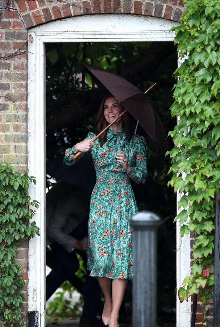 duchess of cambridge garden rain