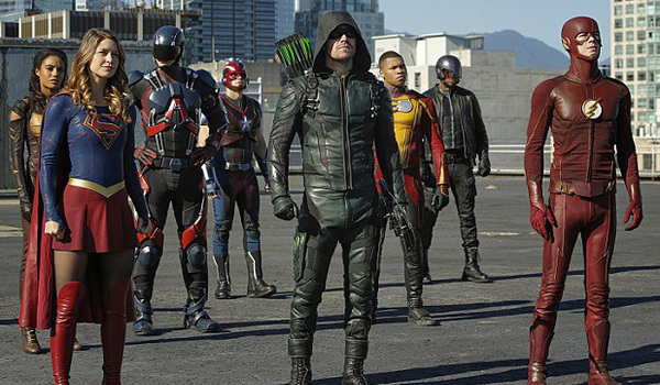 the cw's dc universe arrow flash supergirl legends of tomorrow