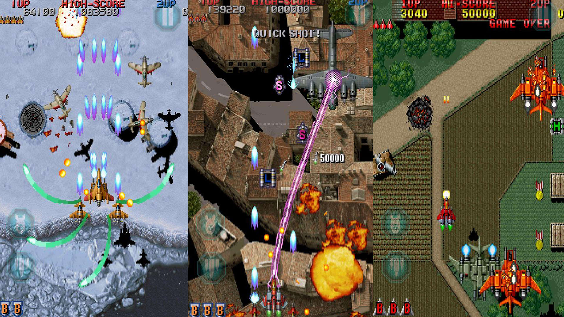 Raiden Legacy - Best console games you can play on a phone or tablet
