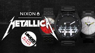 Nixon Metallica watches