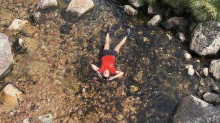 Jasmin Paris in River Dee