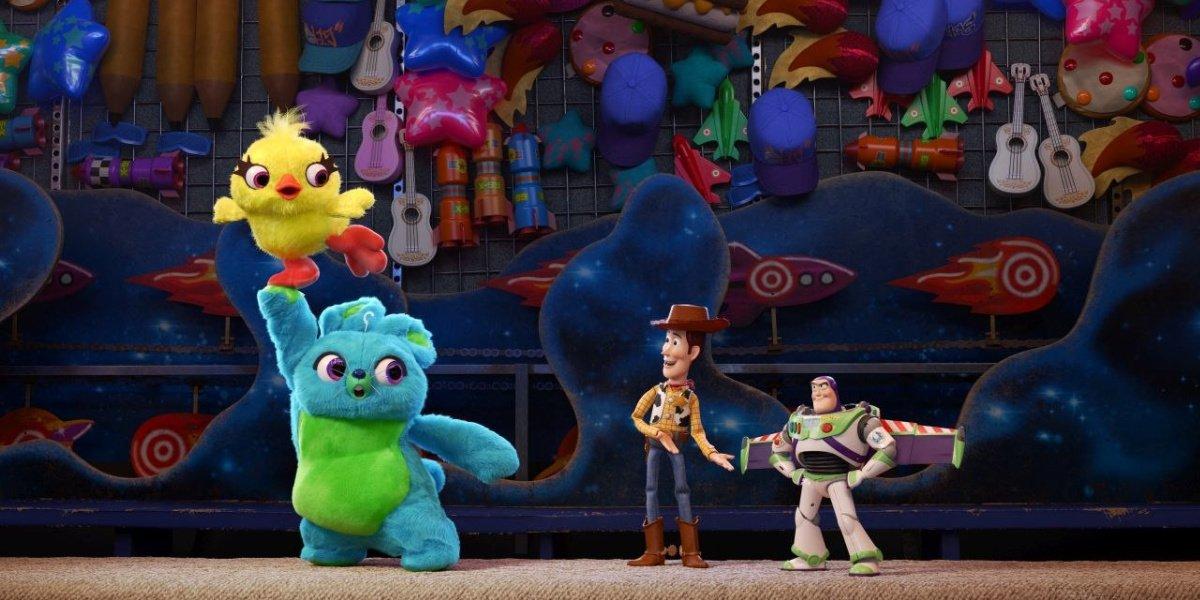 Keegan-Michael Key as Ducky in the Pixar film, Toy Story 4.