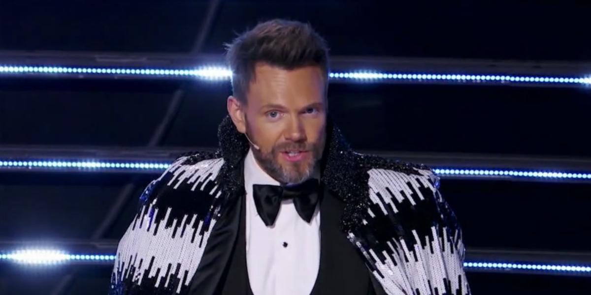 the masked singer joel mchale guest judge screenshot