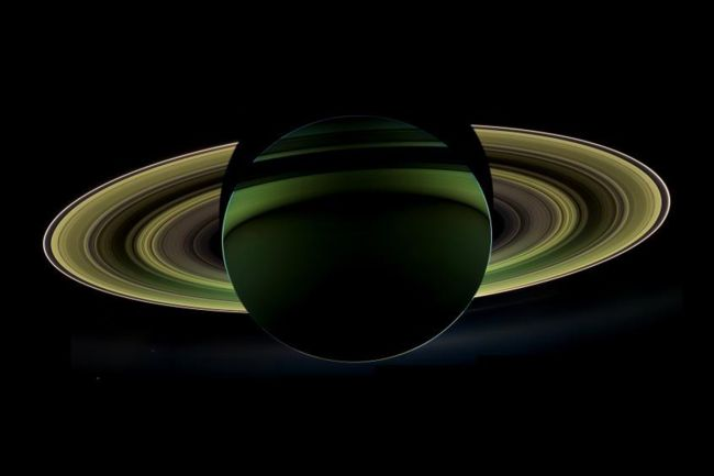 Cassini image of Saturn.