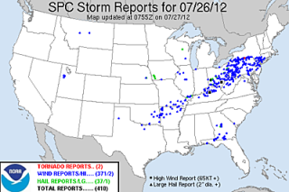 severe weather 2012