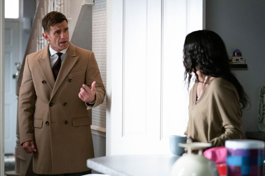 Jack Branning and Denise Fox in EastEnders