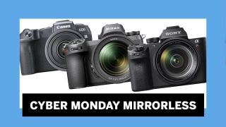 Mirrorless camera Cyber Monday deals