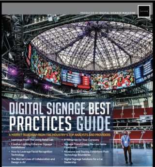 2020 Digital Signage Best Practices Guide