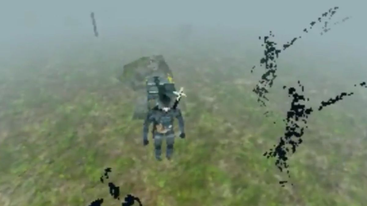 Death Stranding demake imagines the game on PS1