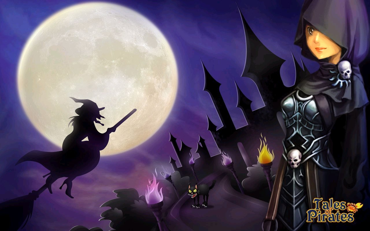 IGG Releases Tales Of Pirates Halloween Wallpapers  #10075
