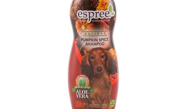 Pumpkin Spice dog shampoo