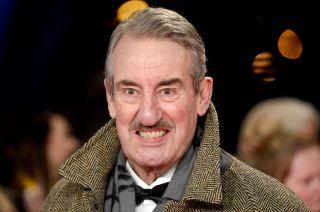 John Challis on the NTA red carpet