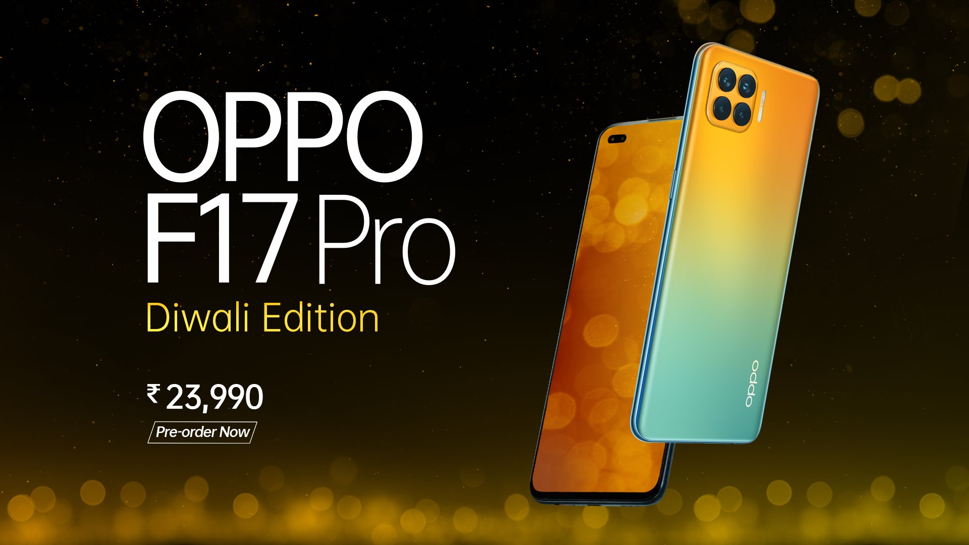 Oppo F17 Pro Diwali Edition giftbox now available at Rs 23,990 thumbnail