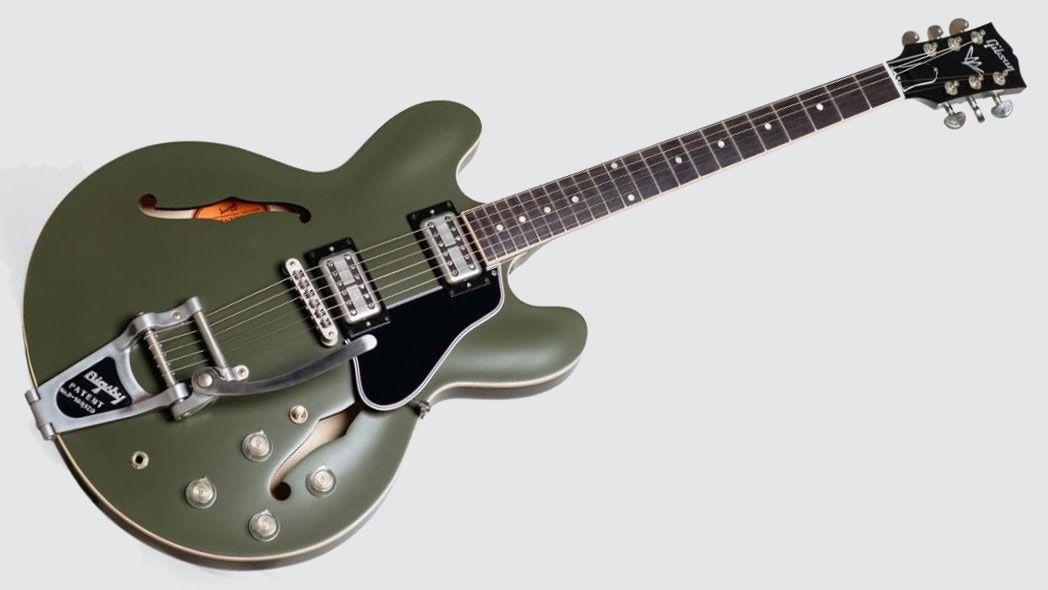 Gibson unveils Chris Cornell Tribute ES-335 signature guitar