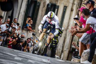 Giro dItalia 2020 103th Edition 1st stage Monreale Palermo 151km 03102020 Filippo Ganna ITA Team Ineos photo Ilario BiondiBettiniPhoto2020