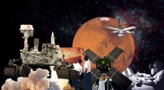 Mars Exploration Film Masa