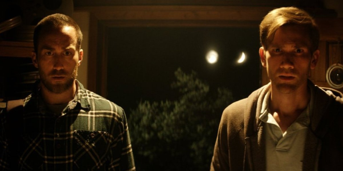 Justin Benson and Aaron Moorhead in The Endless