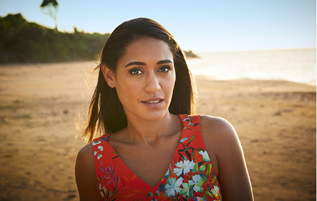Josephine Jobert as Florence in Death in Paradise