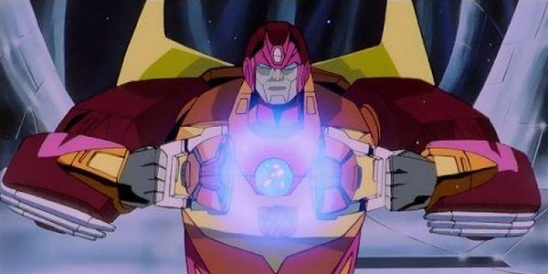 Rodimus Prime in the 1987 Transformers movie