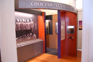 Alcorn McBride Helps Tell Story of Choctaw Codetalkers