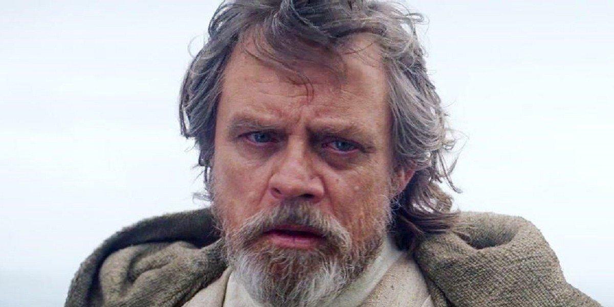 Mark Hamill as Luke Skywalker in Star Wars: The Force Awakens (2015)