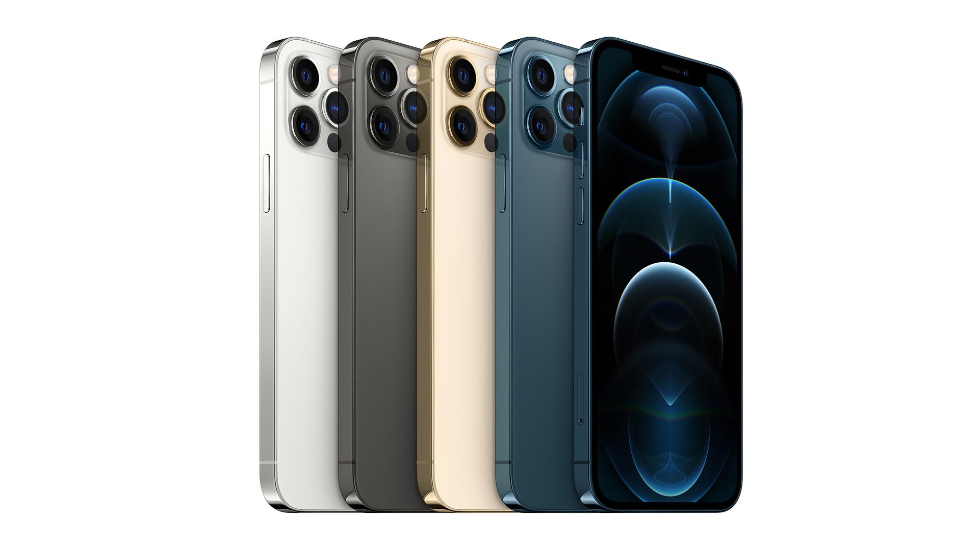 iPhone 12 Pro range