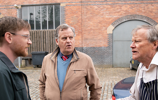 Coronation Street spoilers: Roy Cropper asks Brian and Wayne for help