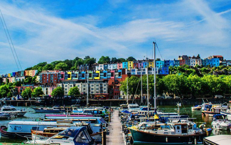 A landscape photos of Bristol