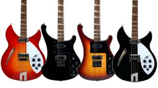 Rickenbacker 90th Anniversary models