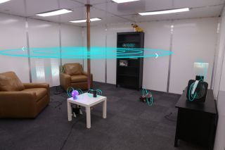 Scientists at Disney Research converted an entire room into a wireless charger.