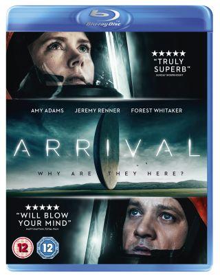 Arrival Blu-ray packshot
