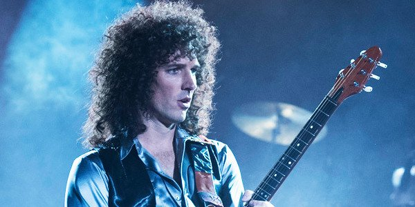 Gwilym Lee as Brian May in Bohemian Rhapsody