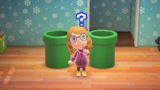 Animal Crossing: New Horizons warp pipe