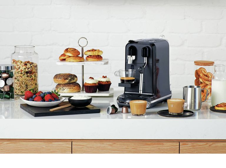 Nespresso Sage coffee machine in best coffee machines roundup